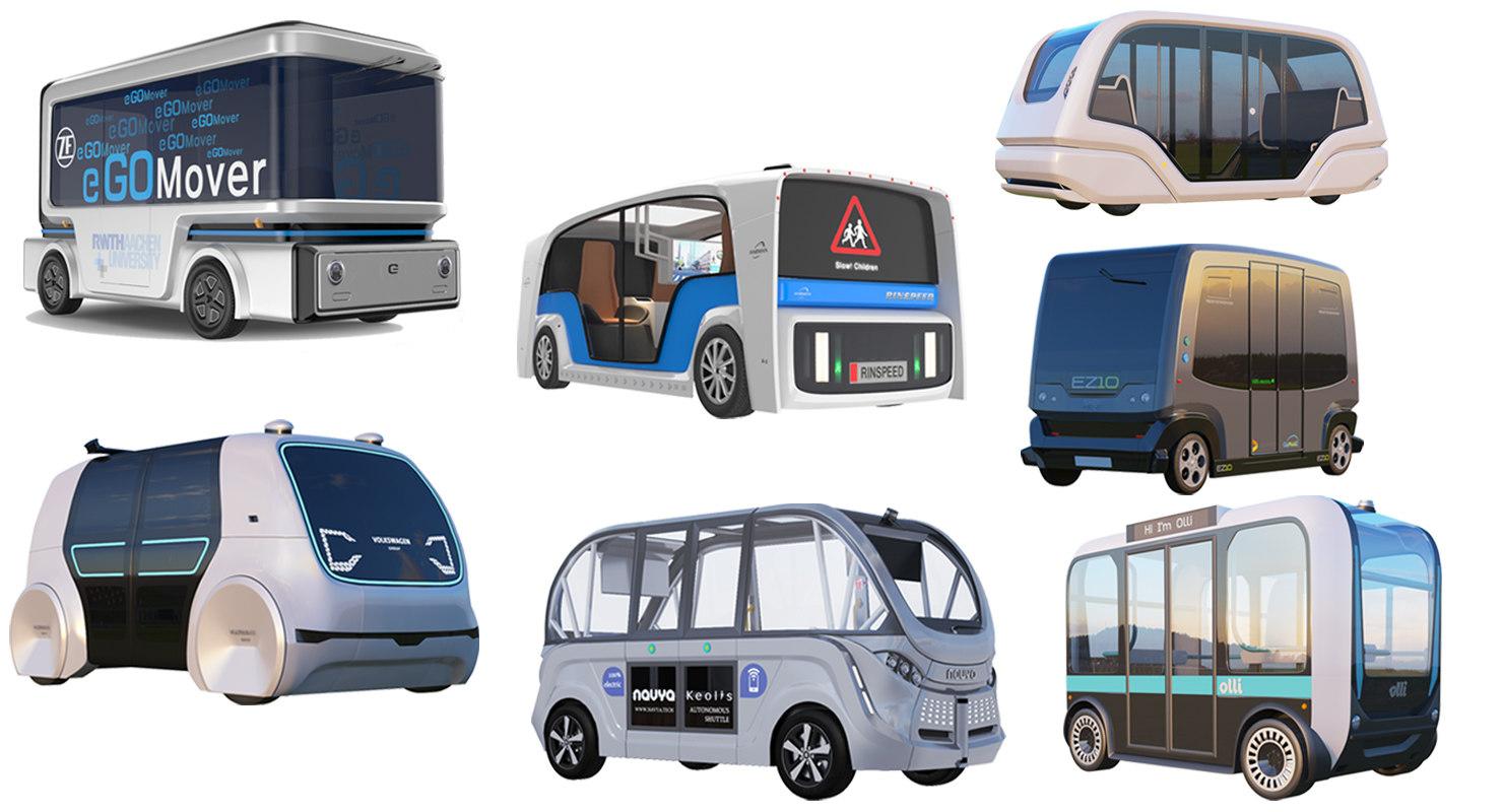 electric buses bus navya model