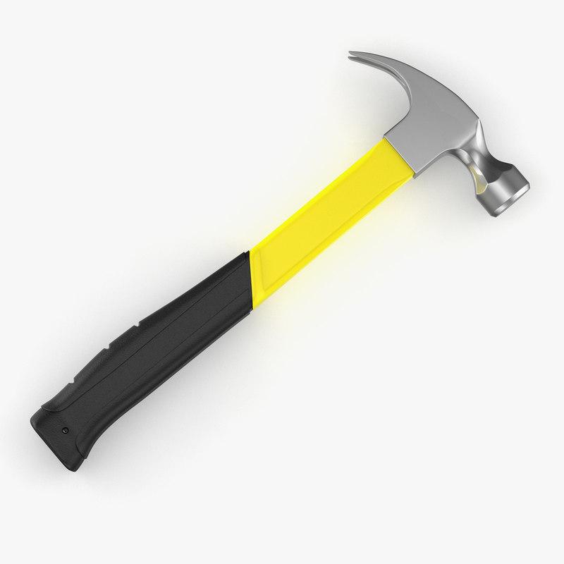 3D tools hammer