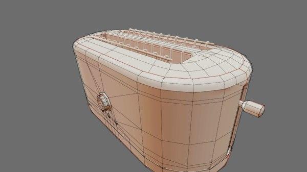 bread toaster 3D