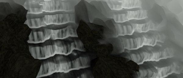 3D rockstream