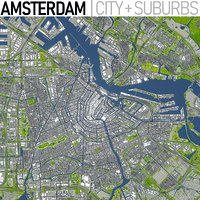 Amsterdam - Full City and Suburbs Collection