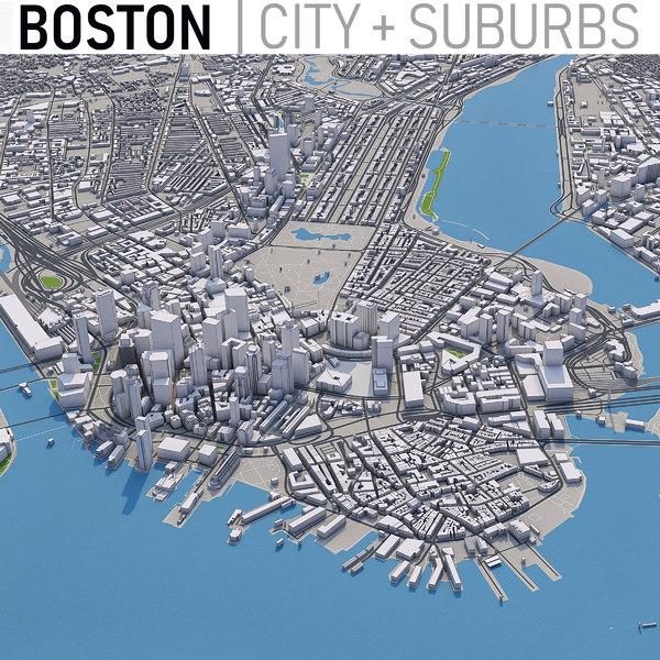 boston city - 3D