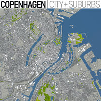 Copenhagen - Full City and Suburbs Collection