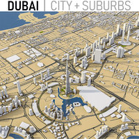 Dubai, UAE - Full City and Suburbs Collection