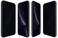 3D apple iphone xr black
