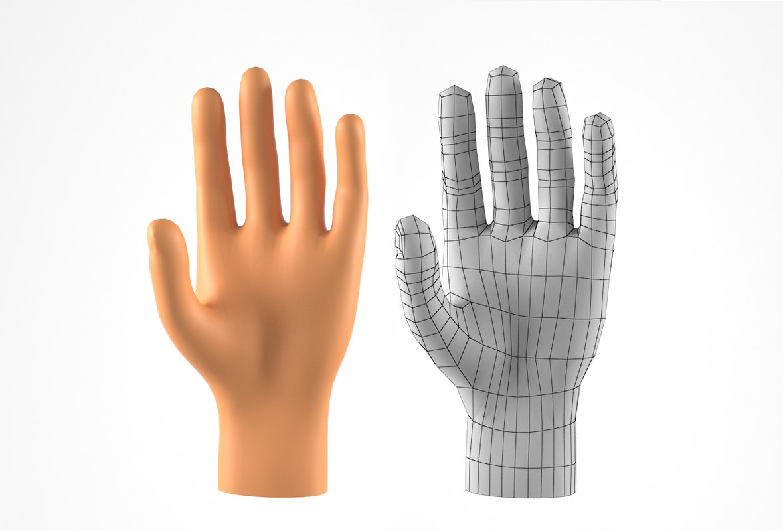 man hand model