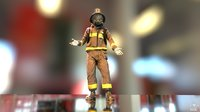 Firefighter Character