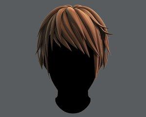 3D hair style man typeb