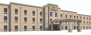 3D comfort inn suites hotel