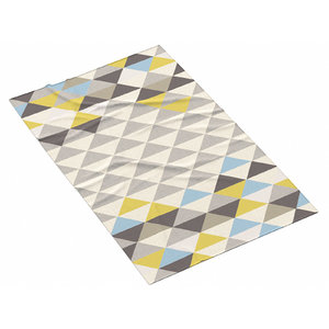 3D west elm mosaic triangles model