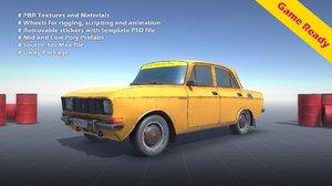 3D soviet sedan 2240