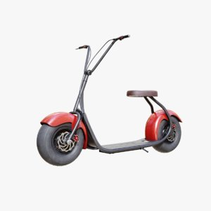 3D electric scooter