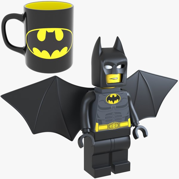 3D batman lego
