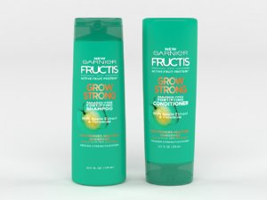 3D model garnier hair care fructis