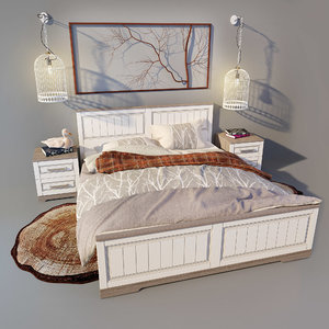 3D bed provence
