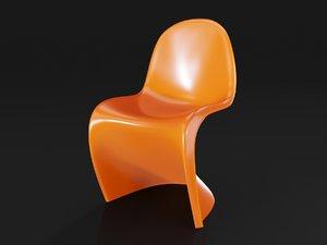 3D panton chair