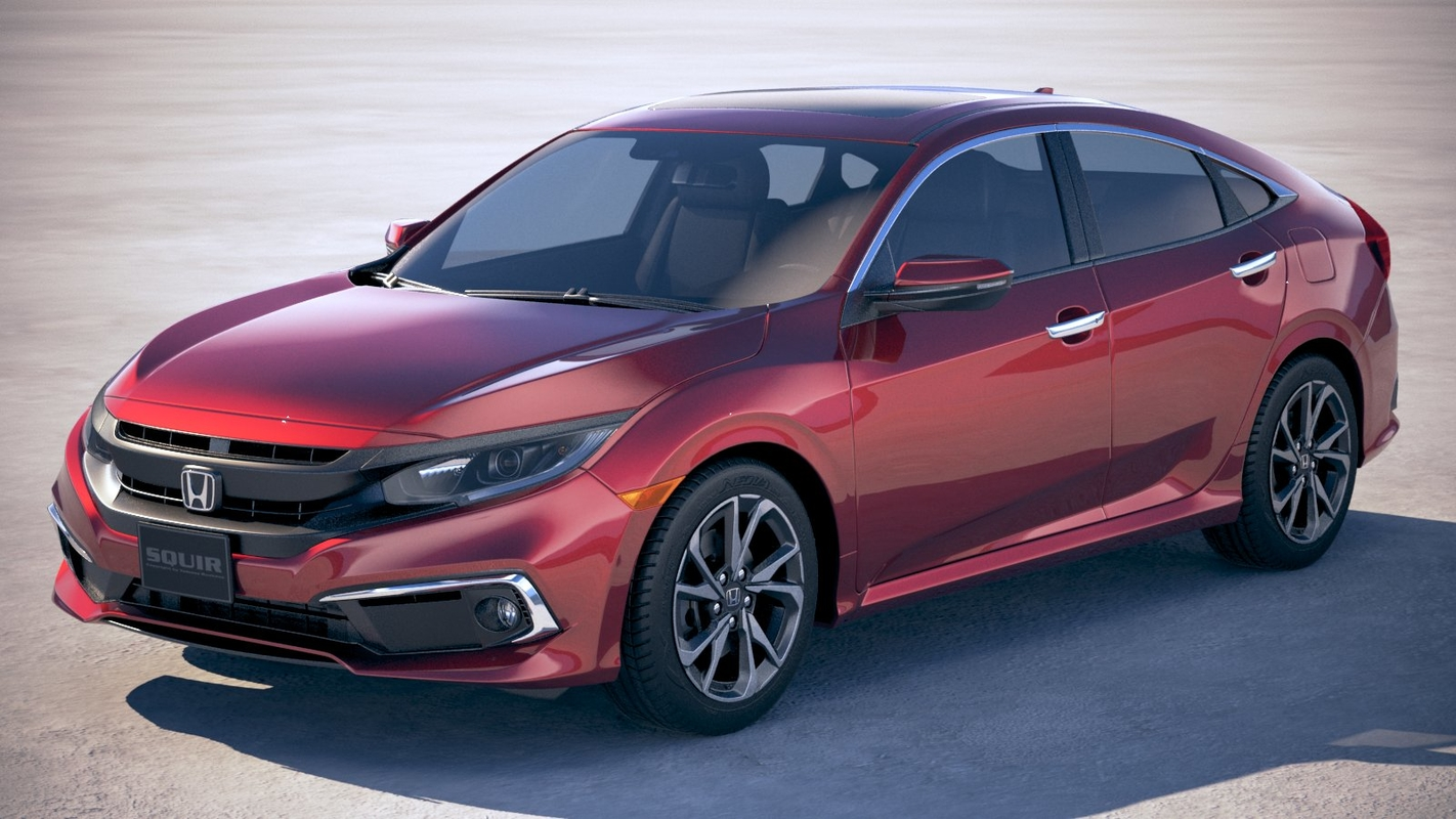 honda civic 2019 3D