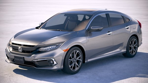 honda civic 2019 3D model