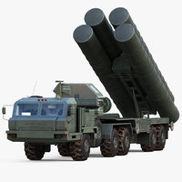 S-400 Triumf Launch Vehicle Vray
