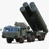 s-400 triumf launch 3D