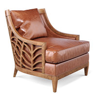 3D marion leather chair