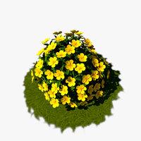 Flower Bush 02