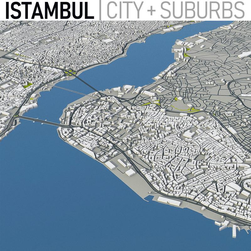 istambul - city 3D