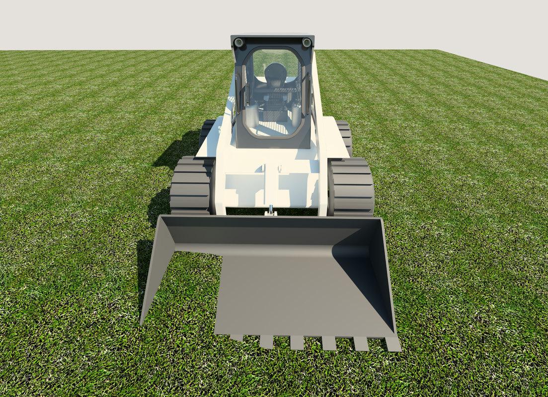 3D skid steer