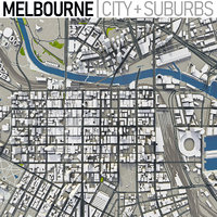 Melbourne - Full City and Suburbs Collection
