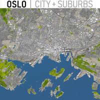 Oslo - Full City and Suburbs Collection
