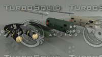 rocket missile 3D