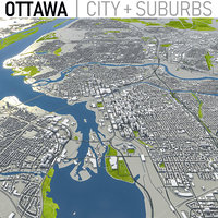 ottawa area urban model