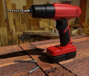 hand drill model