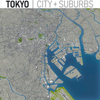 Tokyo - Full City and Suburbs Collection