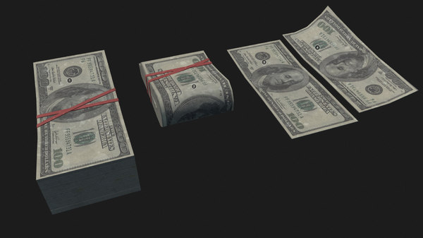3D money pack