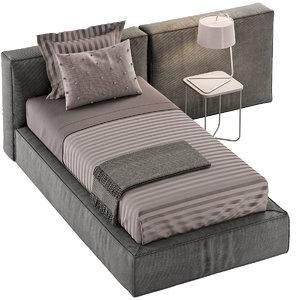 3D model flexteam bed