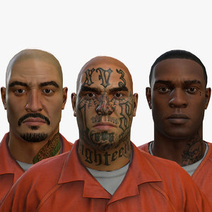 3D correctional facility prisoners