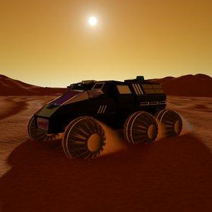 3D model nasa rover