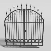 Wrought Iron Gate 2 -