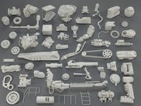 Kit bash(57 pieces) - collection-19