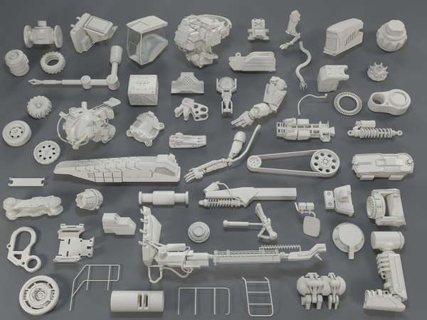 3D kit bashes - 57 model