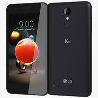realistic lg k9 black model