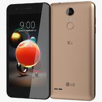 realistic lg k9 gold model