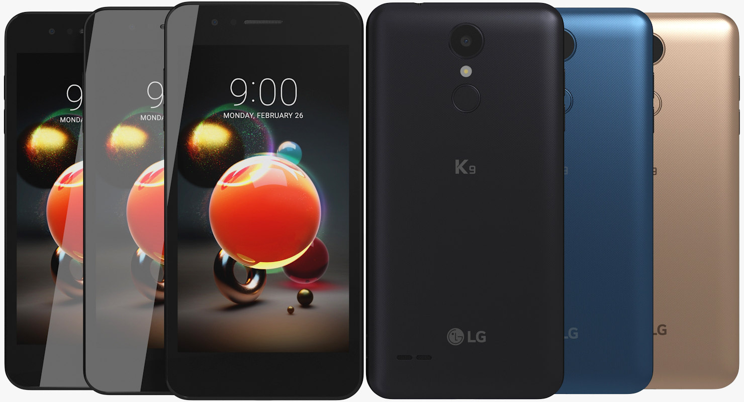 3D realistic lg k9 colors model - TurboSquid 1334614
