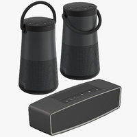 bose bluetooth speakers 3D model