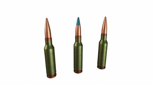 3D russian bullets 5 45