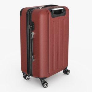 rolling suitcase 3D