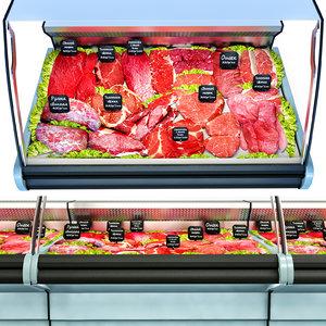3D model meat