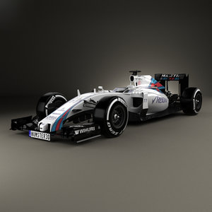 williams fw38 fw 3D model