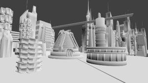 academy law judge dredd 3D model